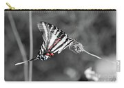 Zebra Swallowtail Butterfly 2016 Carry-all Pouch