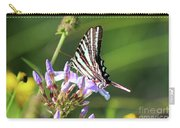 Zebra Swallowtail Butterfly On Phlox Carry-all Pouch