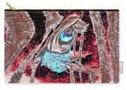 Zebras Eye - Abstract Art Carry-all Pouch