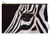 Zebras Eye Carry-all Pouch