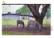 Zebras Under Oaks Carry-all Pouch
