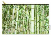 Zen Bamboo Forest Carry-all Pouch