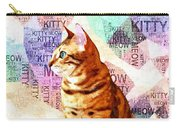 Zen Cat Carry-all Pouch