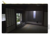Zen Tea Room Of Koto-in Temple -- Kyoto Japan Carry-all Pouch