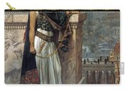 Zenobia's Last Look On Palmyra Carry-all Pouch by Herbert Gustave Schmalz