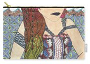 Zentangle Queen  Carry-all Pouch