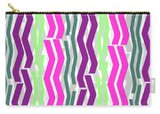 Zig Zig Stripes Carry-all Pouch