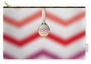 Zigzag Water Drop 3 Carry-all Pouch