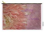 Chrysanthemum Birthday Carry-all Pouch