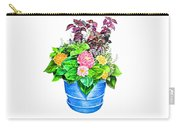 Zinnia Container Garden Carry-all Pouch