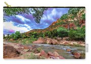 Zion At Daybreak Carry-all Pouch