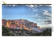 Zion At Sunset #3 Carry-all Pouch