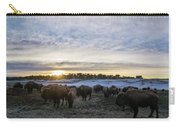 Zion Mountain Ranch Buffalo Herd Carry-all Pouch