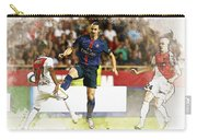 Zlatan Ibrahimovic In Action  Carry-all Pouch