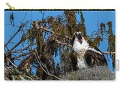 Zombie Osprey Crying For Brains Carry-all Pouch