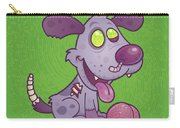 Zombie Puppy Carry-all Pouch by John Schwegel