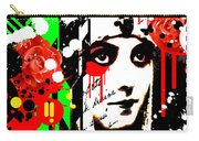 Zombie Queen Roses Carry-all Pouch