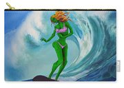 Zombie Surf Goddess Carry-all Pouch