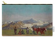 Zommer, Richard 1866-1939 In The Mountains Of Alatau Carry-all Pouch