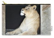 The Queen Of Animals Carry-all Pouch