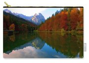 Zugspitz And Riessersee Garmish Germany Carry-all Pouch