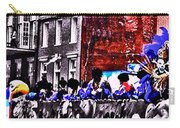 Zulu Krewe In Red And Blue Carry-all Pouch