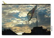 Zurich Griffin Flag At Sunset Carry-all Pouch