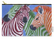 Zzzebras Carry-all Pouch