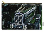 1930's Talbot Lago T23 Race Car Carry-all Pouch