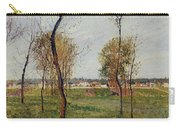 A Meadow In Eragny, 1889 Carry-all Pouch