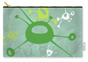 Abstract Splash Theme Iv Carry-all Pouch