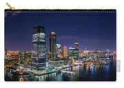 Aerial Panorama Of Jersey City Carry-all Pouch