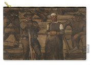 Albin Egger-lienz 1868 - 1926 The Ages Of Life Carry-all Pouch