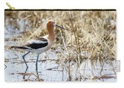 American Avocet Carry-all Pouch by Michael Chatt