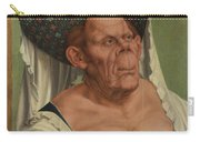 An Old Woman  The Ugly Duchess   Carry-all Pouch