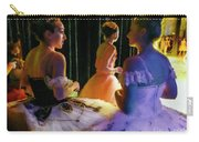 Ballerina Discussions Carry-all Pouch