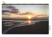 Beach Sunset, Blackpool, Uk 09/2017 Carry-all Pouch