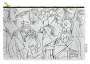 Before The Last Supper Carry-all Pouch by Anthony Falbo