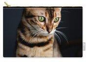 Bengal Cat Portrait Carry-all Pouch