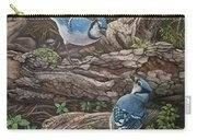 Blue Jay Stand Off Carry-all Pouch