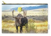 Bull Moose Carry-all Pouch by Michael Chatt
