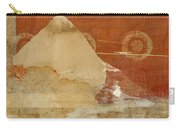Burnt Orange Collage Carry-all Pouch