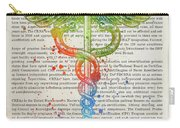 Certified Registered Nurse Anesthetist Gift Idea With Caduceus I Carry-all Pouch