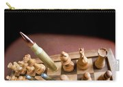 Chess Board And Bullets. Carry-all Pouch