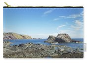 cliffs and coast at St. Abbs, Berwickshire Carry-all Pouch