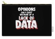Computer Data Science Big Data Geek Pun Apparel Carry-all Pouch