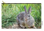 Cottontail Rabbit Carry-all Pouch by Michael Chatt