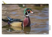 Curious Wood Duck Carry-all Pouch