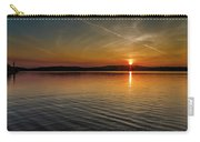 Dog Lake Sunset Carry-all Pouch