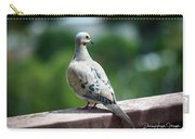 Dove On The Deck Carry-all Pouch